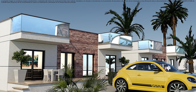 Villas de obra nueva en el verger a 1 km de la playa con gran solarium privado. - imagenInmueble2