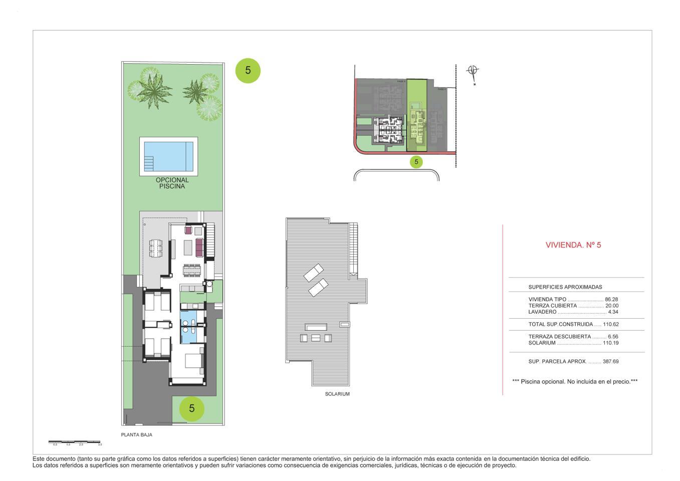 Villas de obra nueva en el verger a 1 km de la playa con gran solarium privado. - imagenInmueble3
