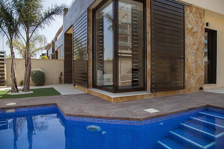 Promoción de villas de obra nueva a 750 m de la playa en lo pagán - imagenInmueble0