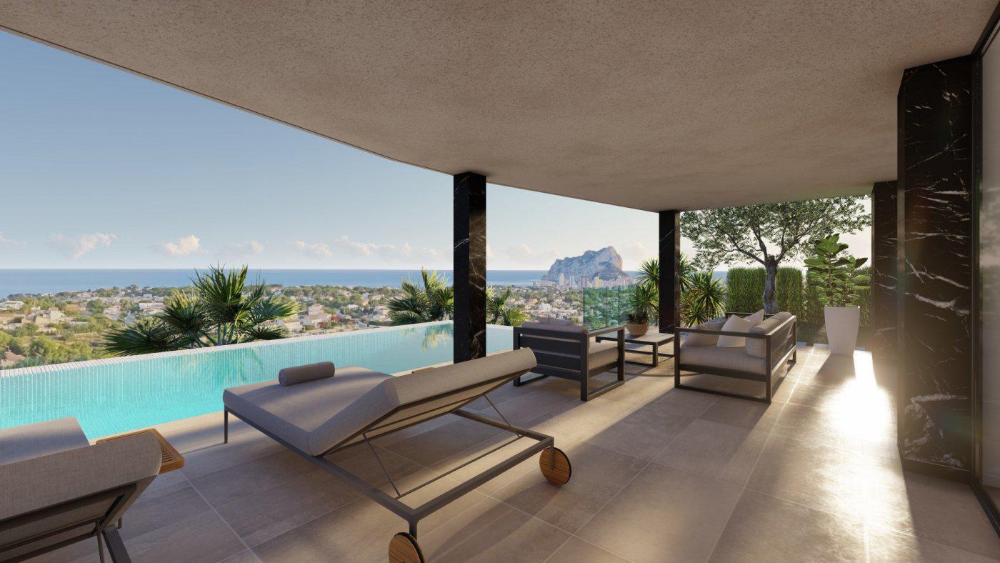 Casa de lujo de 3 plantas con maravillosas vistas panorámicas al mar en calpe - imagenInmueble0