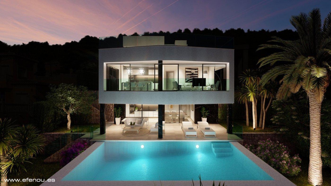 Casa de lujo de 3 plantas con maravillosas vistas panorámicas al mar en calpe - imagenInmueble2