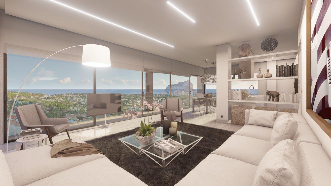 Casa de lujo de 3 plantas con maravillosas vistas panorámicas al mar en calpe - imagenInmueble4