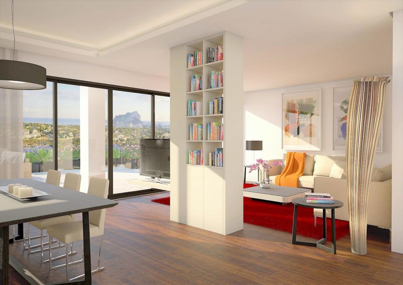 Casa de lujo de 3 plantas con maravillosas vistas panorámicas al mar en calpe - imagenInmueble5