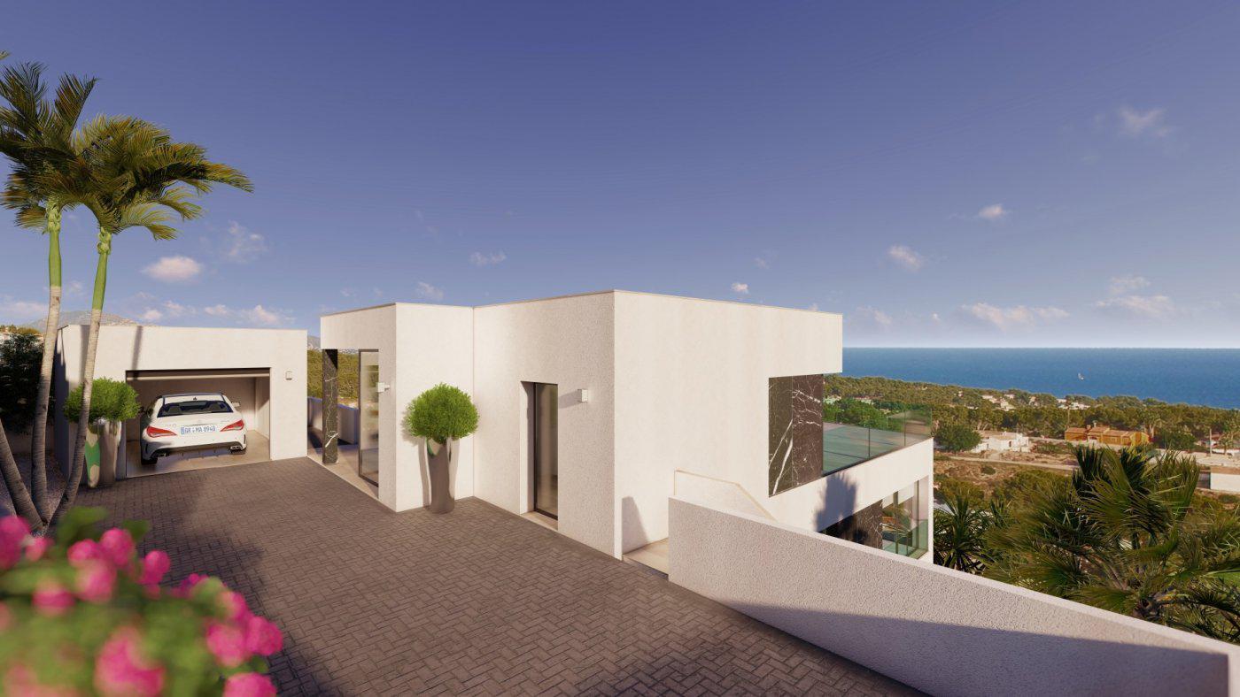 Casa de lujo de 3 plantas con maravillosas vistas panorámicas al mar en calpe - imagenInmueble6