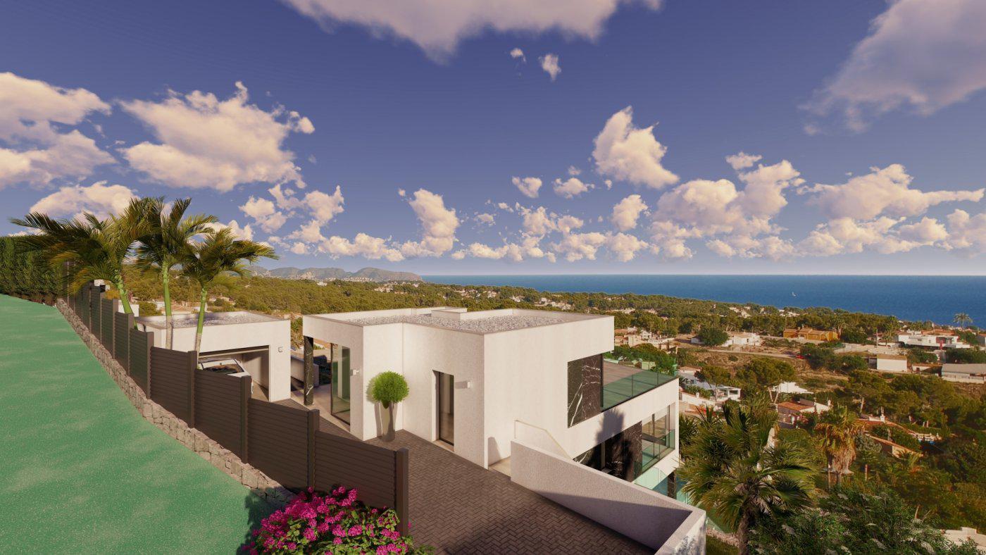 Casa de lujo de 3 plantas con maravillosas vistas panorámicas al mar en calpe - imagenInmueble7