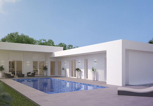 Fantastico chalet de obra nueva construido sobre una parcela de 500 m2 en la romana. - imagenInmueble0