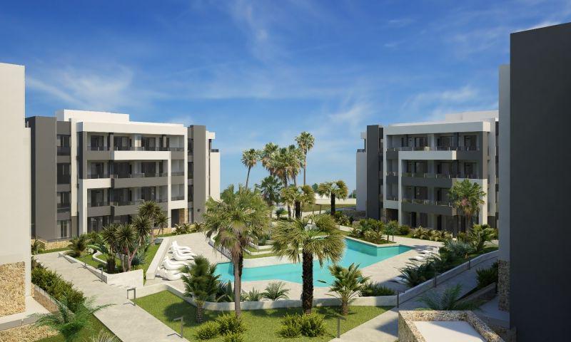 Residencial privado de apartamentos junto a golf villamartín (orihuela costa). - imagenInmueble0