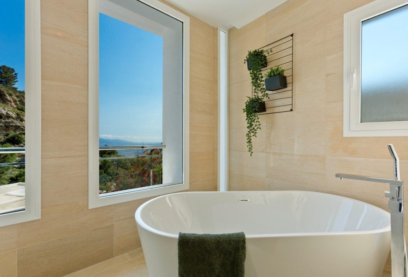 Villa de obra nueva en altea con vistas al mar!!! - imagenInmueble14