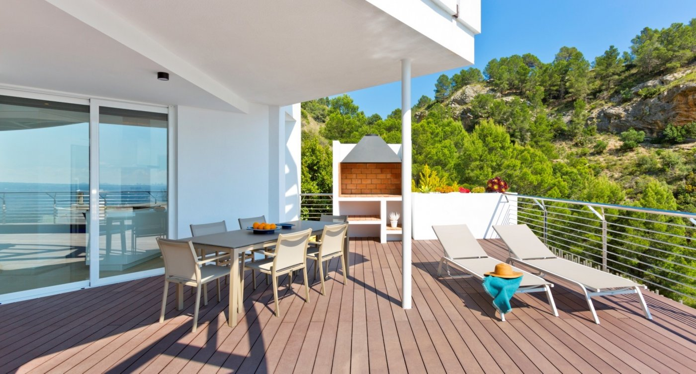 Villa de obra nueva en altea con vistas al mar!!! - imagenInmueble7
