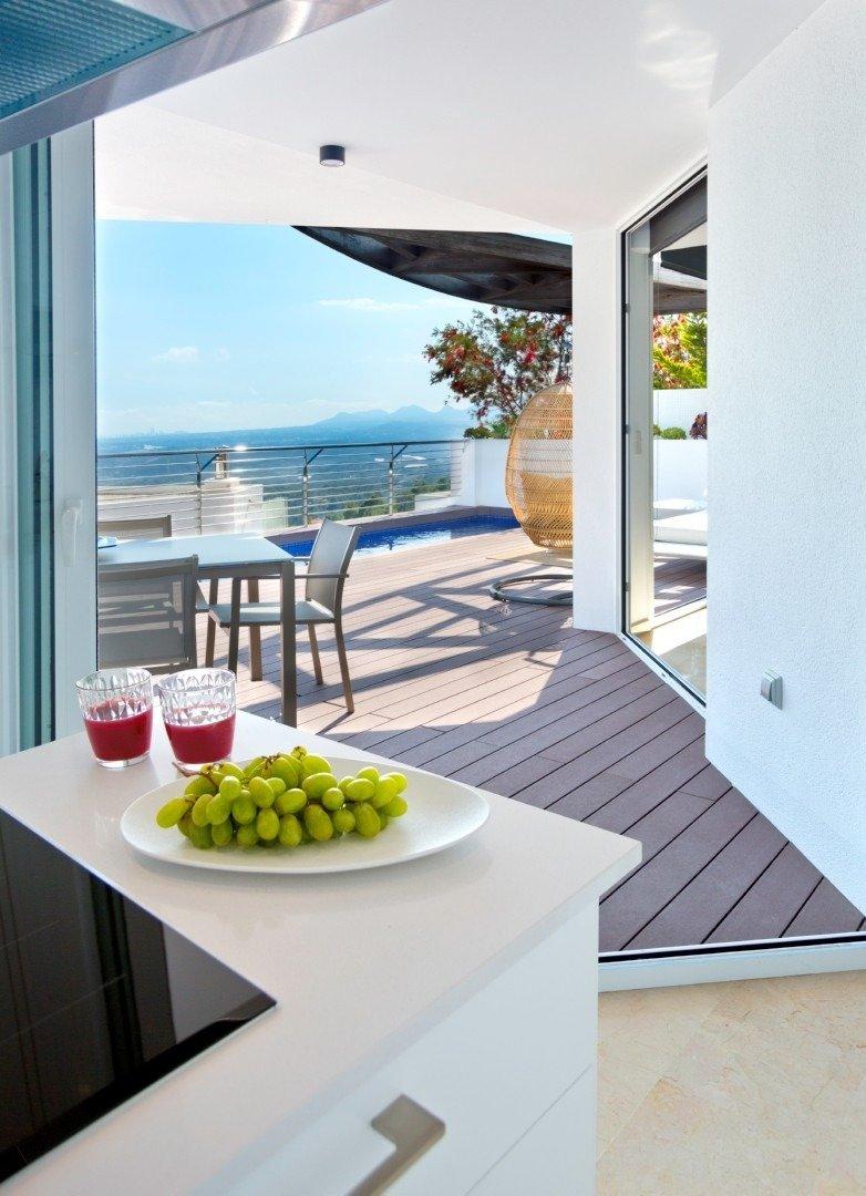 Villa de obra nueva en altea con vistas al mar!!! - imagenInmueble8