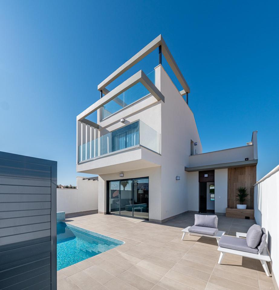 Complejo de lujo de 24 nuevas villas adosadas con piscina privada y plaza de aparcamiento - imagenInmueble1