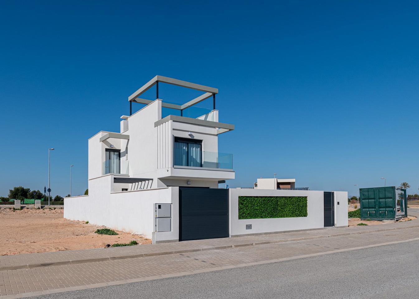 Complejo de lujo de 24 nuevas villas adosadas con piscina privada y plaza de aparcamiento - imagenInmueble19