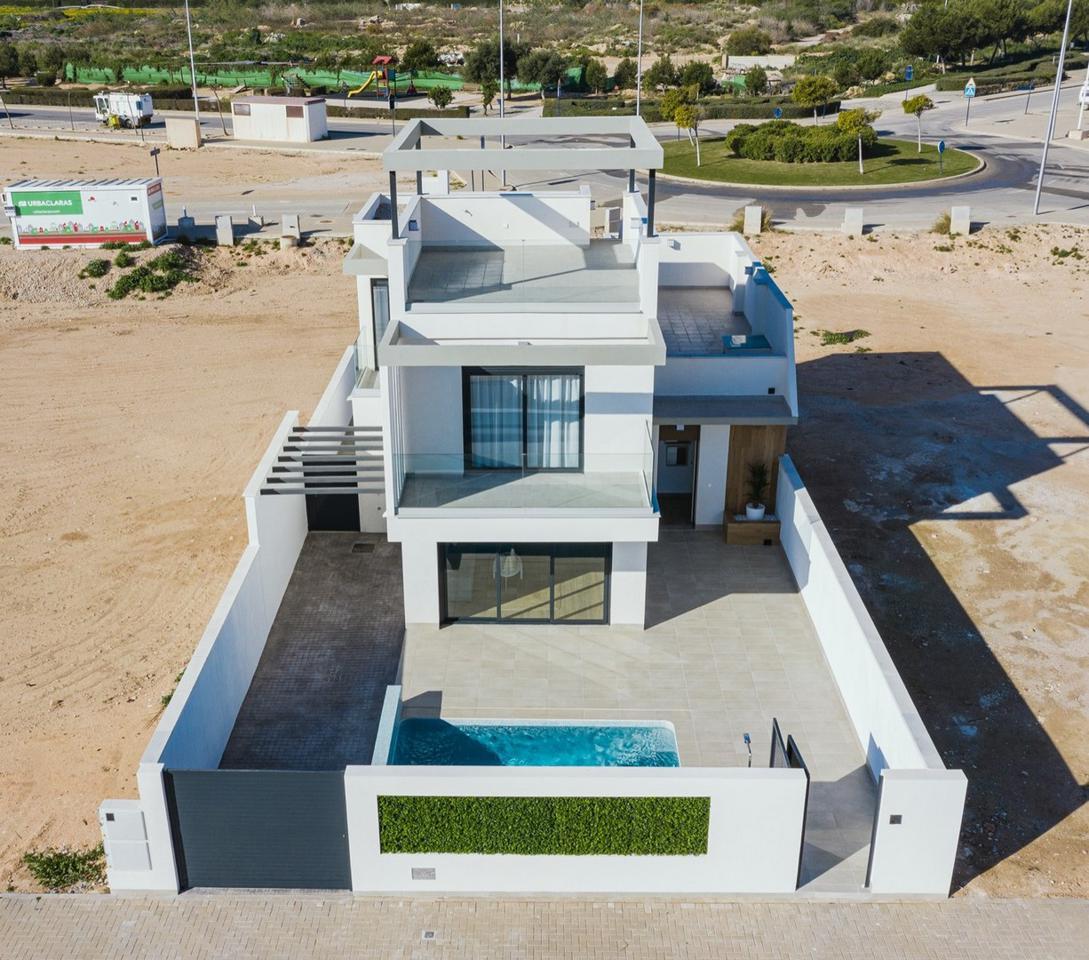 Complejo de lujo de 24 nuevas villas adosadas con piscina privada y plaza de aparcamiento - imagenInmueble3