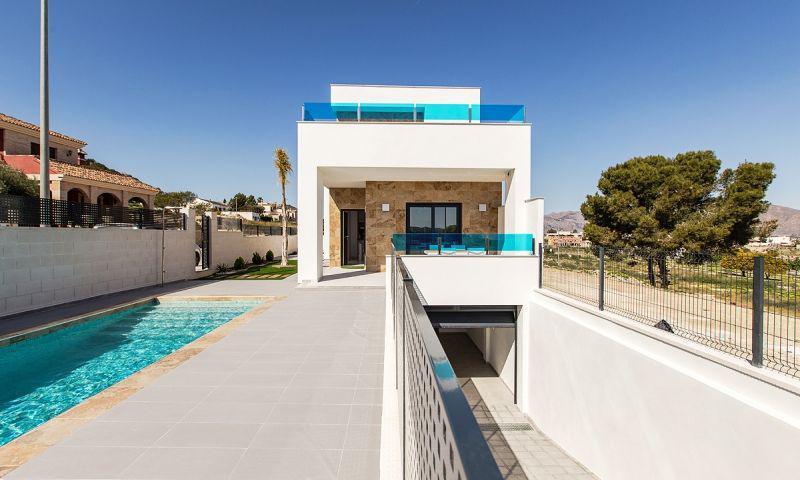 Villas de obra nueva en bigastro con piscina privada y solarium!!! - imagenInmueble0