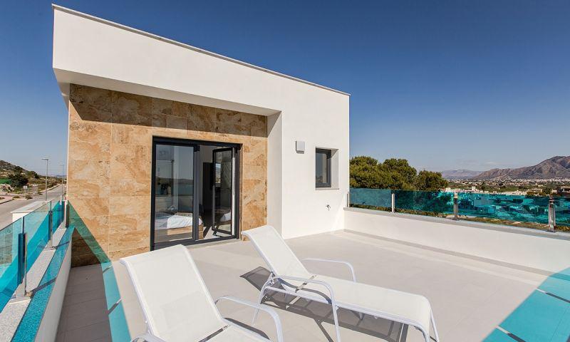 Villas de obra nueva en bigastro con piscina privada y solarium!!! - imagenInmueble1