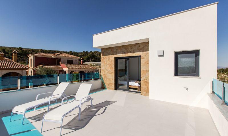 Villas de obra nueva en bigastro con piscina privada y solarium!!! - imagenInmueble21