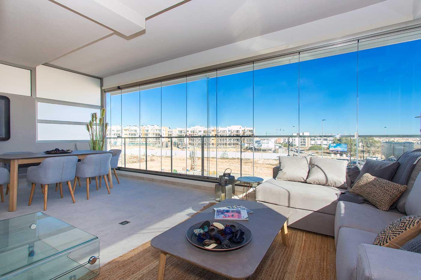 Complejo de estilo moderno con apartamentos de 2,3 dormitorios y 2 baños con amplias terra - imagenInmueble23