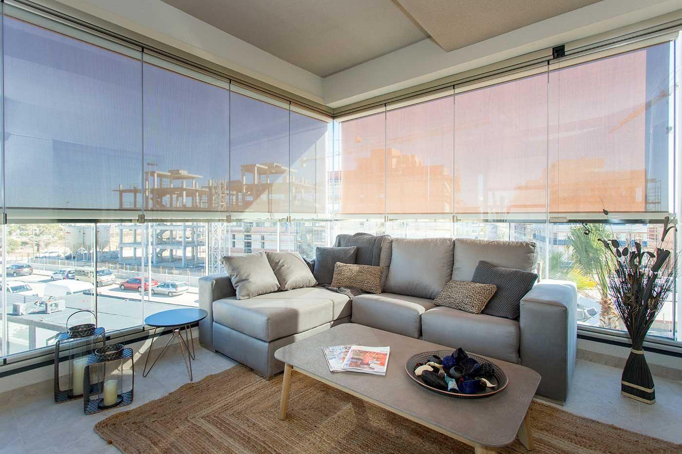 Complejo de estilo moderno con apartamentos de 2,3 dormitorios y 2 baños con amplias terra - imagenInmueble24