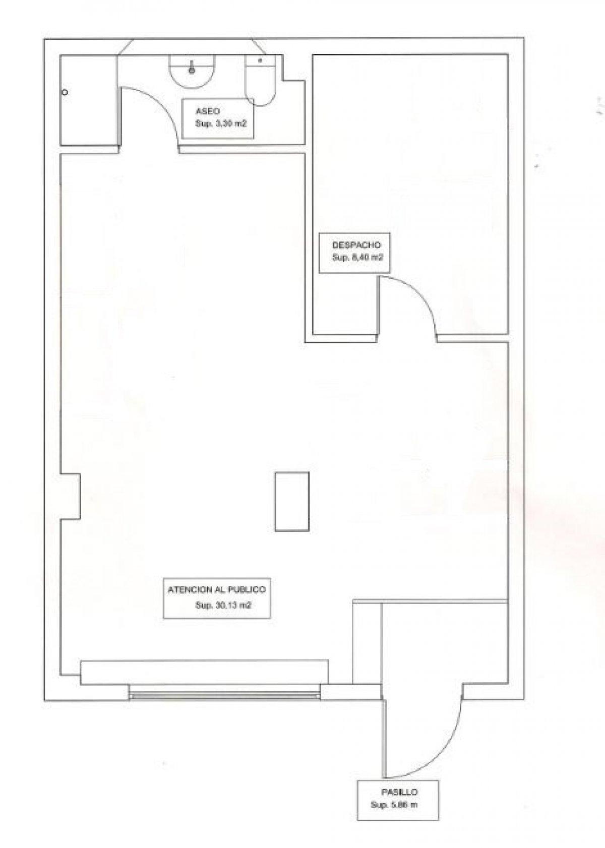Local comercial en alquiler en Santander  de 50 m2 por 390€/mes.